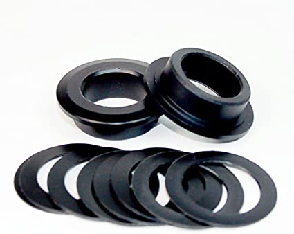 Wheels Manufacturing BB30 to Sram 22//24mm adapter Black Pair BB30-SRAM