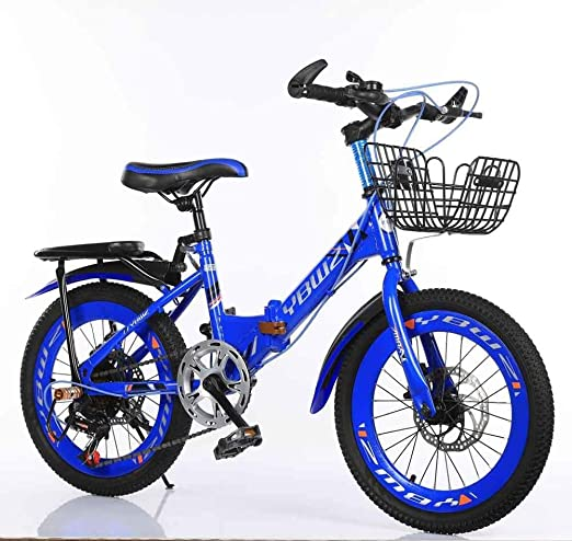 YOUSR Bicicleta Plegable De 20 Pulgadas, Bicicleta Plegable ...