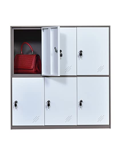 Amazon Metal Office And Home Locker Cabinet With 6 Doors