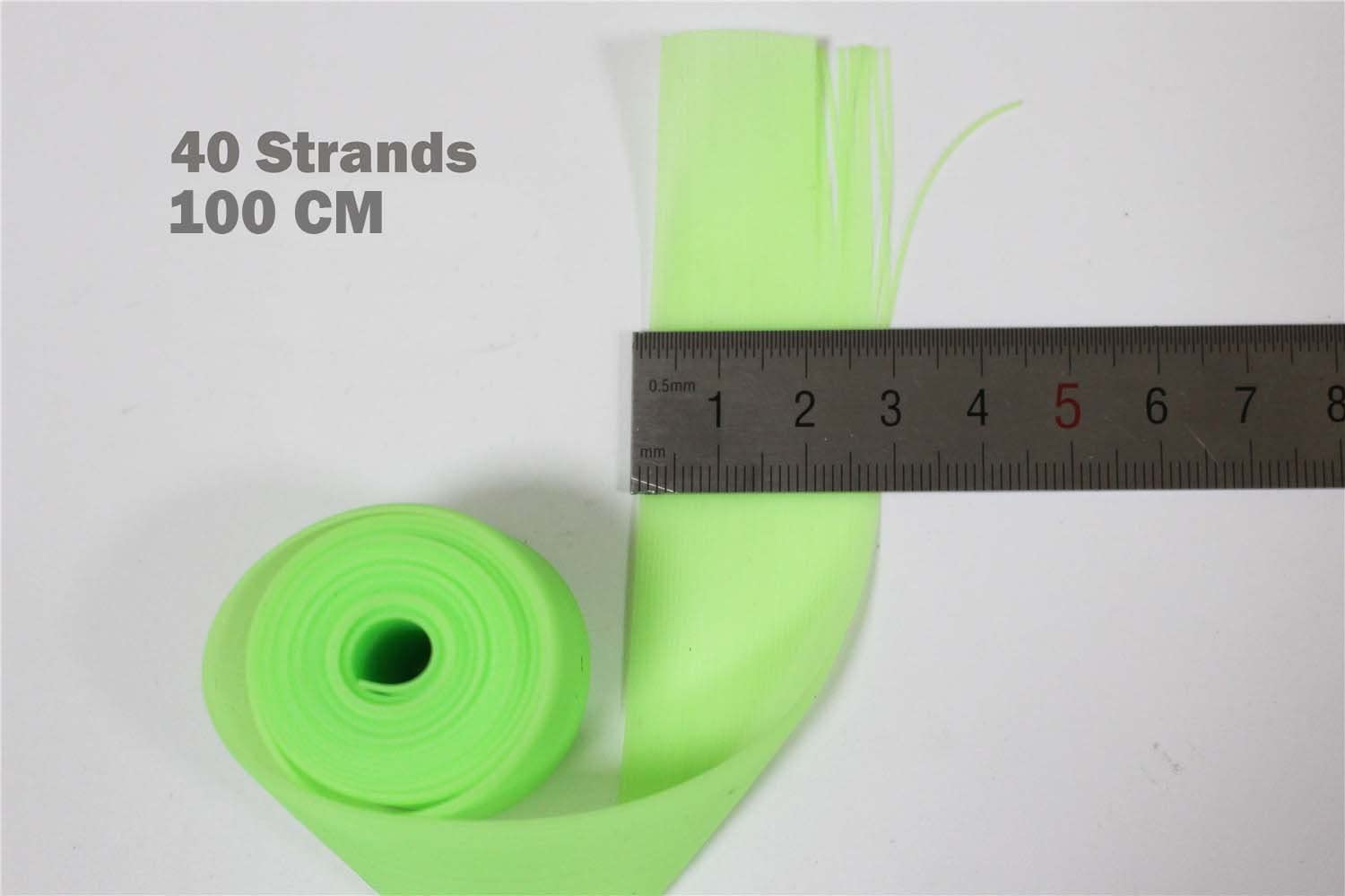 100/cm silicone gonne cilindro 0.7/mm spessore luminoso Glow DIY spinner Bait Squid rubber thread Fly Tying Materials