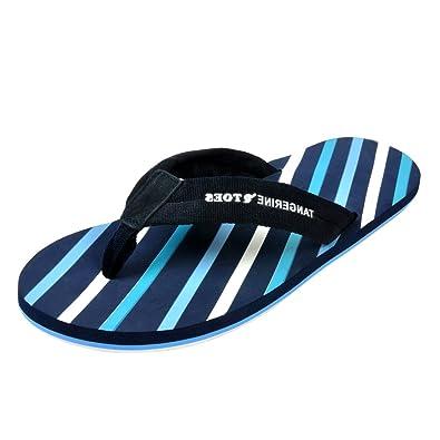 13206d0e756265 Tangerine Toes Men s EVA Flip Flop (SS4MIFF003 11 Navy 11 UK)  Buy ...