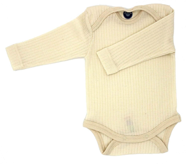 20/% Seide 35/% kbT Wolle Cosilana Baby Body Wollbody/® Spezial Qualit/ät 45/% kbA Baumwolle