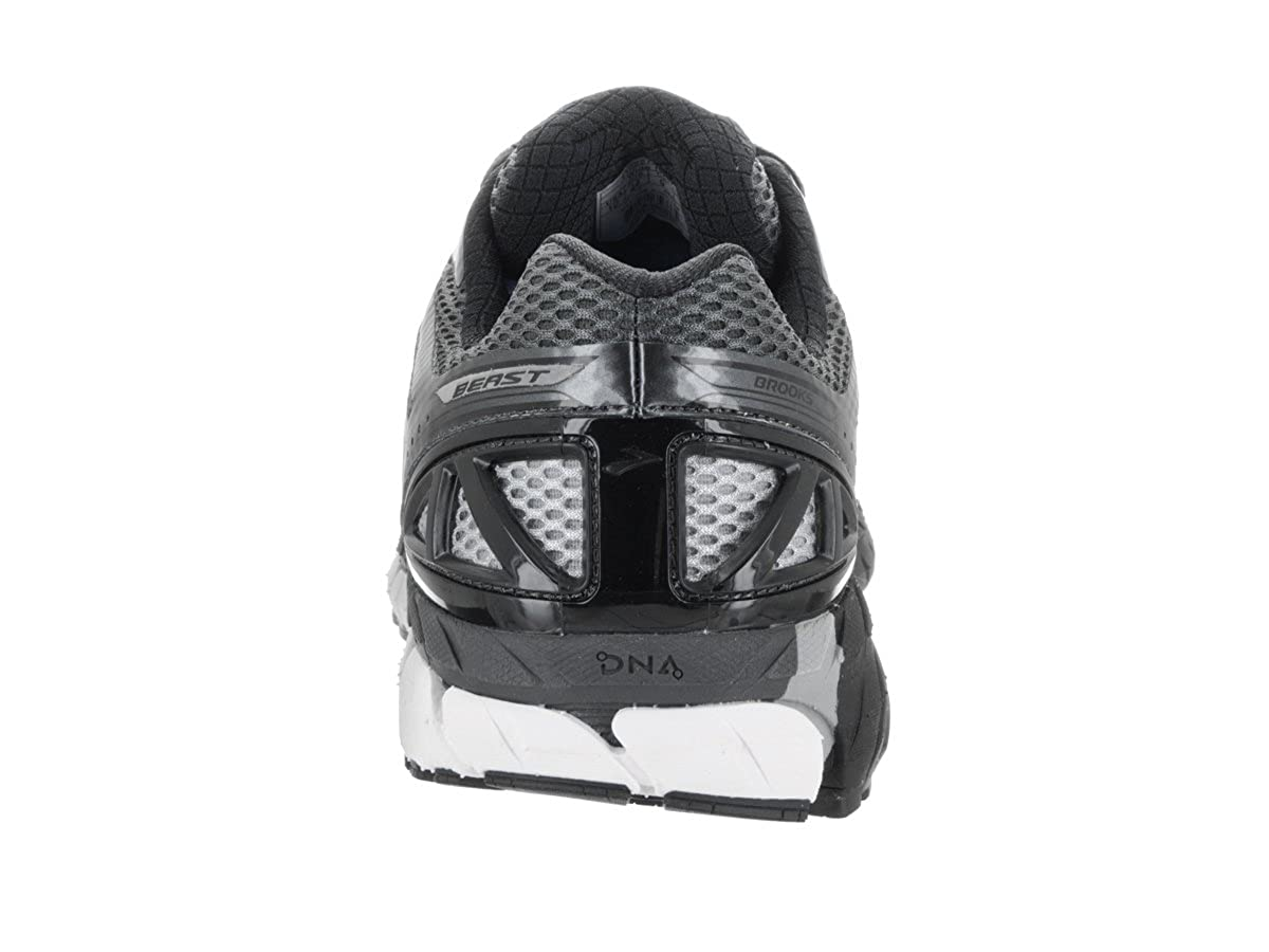 72a1e4c3993 Brooks Men s Beast  16 Anthracite Black Silver Sneaker 12 EE - Wide  Buy  Online at Low Prices in India - Amazon.in