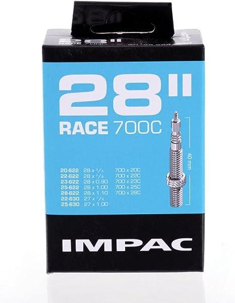 """Schwalbe IMPAC 700c 28c 30c 35c 38c 40c 45c 28/"""" 1.10-1.75/""""  Inner Tube Schrader"""