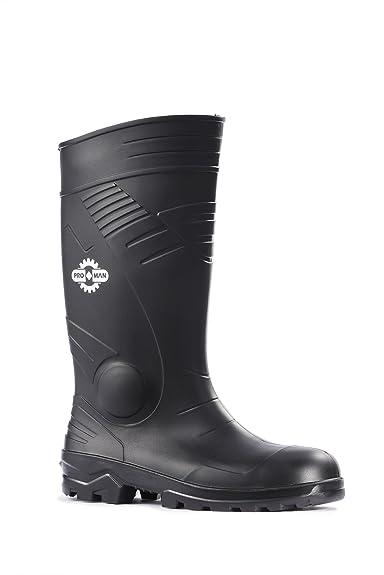 a0d99884d06 Tomcat Washington TC200A S5 Black Steel Toe Cap Safety Wellington Boots  Wellies PPE