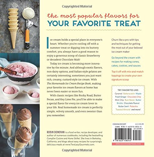 the homemade ice cream recipe book  old