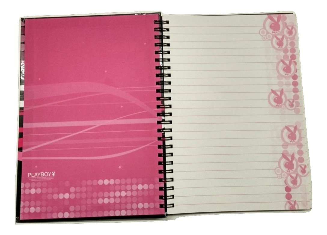 Playboy Agenda Diario con anillas Notebook A5: Amazon.es ...