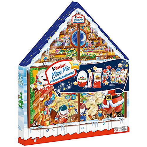Ferrero Kinder Maxi Mix Advent Calendar 2018 351g (Styles May Vary)