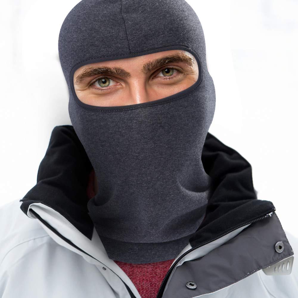 Passamontagna Invernale da Ciclismo in Pile per Passamontagna Maschera a Pieno facciale pi/ù Caldo Sport///Cappello da Scudo/Termico per Bici da Sci
