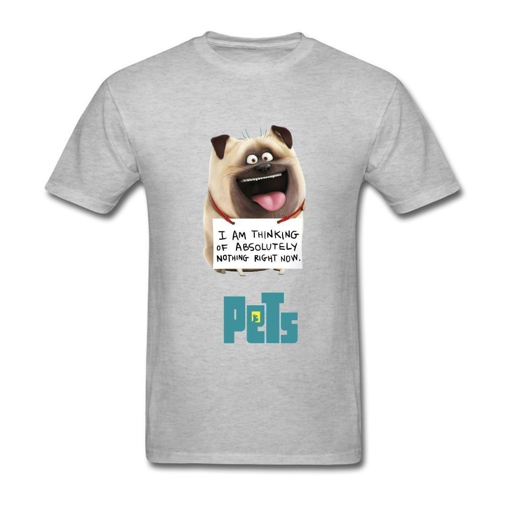 SAMMA Men's The Secret Life of Pets Design Cotton T Shirt