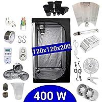 Supacrop Kit de Cultivo Interior 400W SHP Stuko