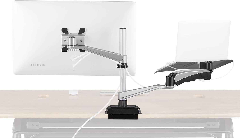 Vari Monitor Arm + Laptop Stand - Universal Mounting w/Full Articulation - 15