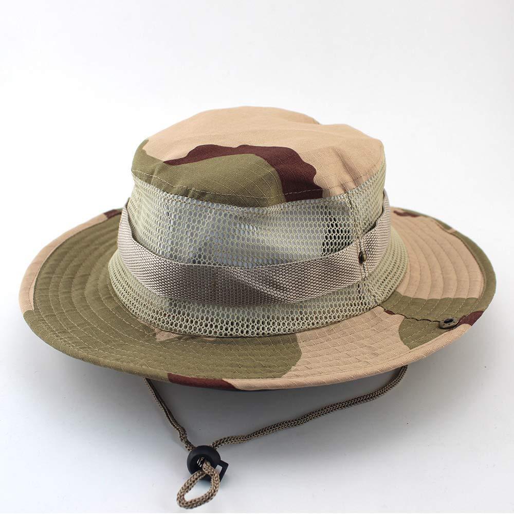 zhuzhuwen Sombrero de Pescador al Aire Libre, Sombrero de ...