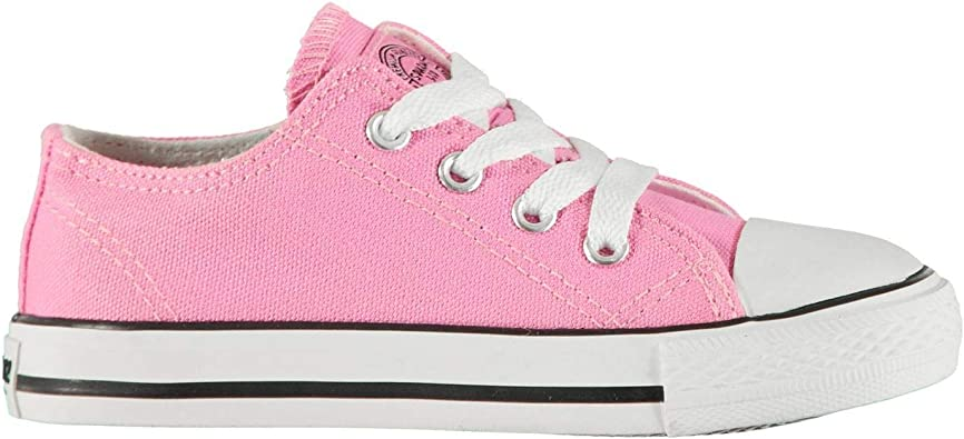 SoulCal Low Canvas Shoes Infants Girls