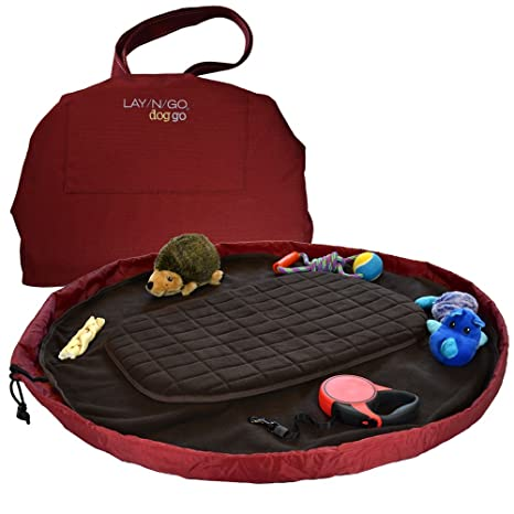 Travel Dog Bed >> Lay N Go 44 Travel Dog Bed