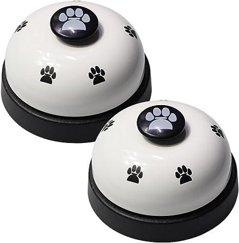 Amazon.com : VIMOV Pet Training Bells, Set of 2 Dog Bells for Potty Training and Communication Device… : Pet Supplies