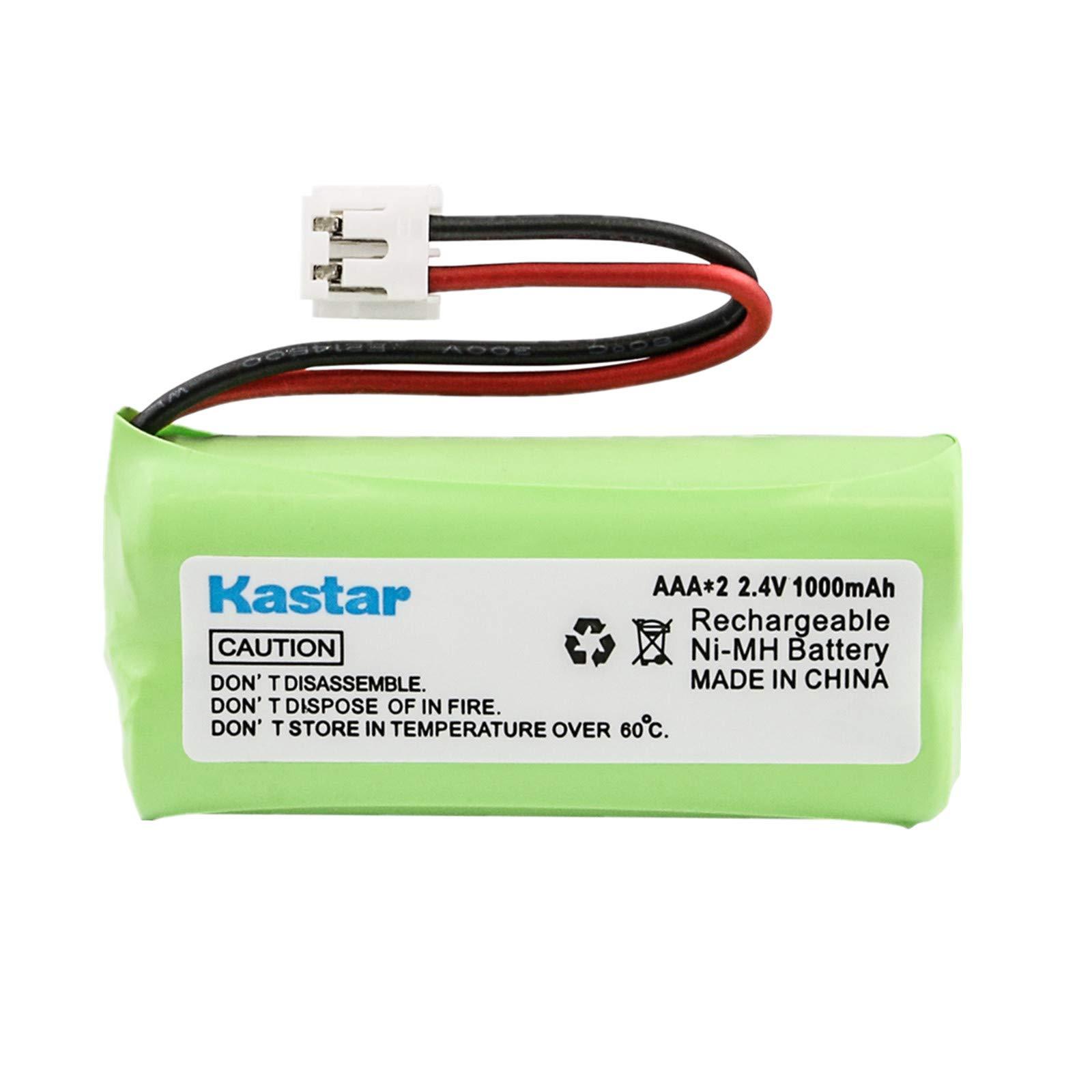 Kastar Battery Replacement for AT&T BT8001 BT8000 BT8300 BT6010 Vtech BT184342 BT284342 AT3211-2 89-1335-00 89-1344-01 89-1330-00-00 89-1330-01-00 89-1326-00-00 BATT-6010 Uniden BT1011 BT1018 BT694