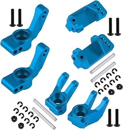 2 Steer Block Caster Bloc RR Hub : 1:10 2wd tous