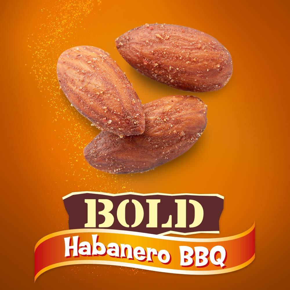 Blue Diamond Almonds BOLD Favorites Variety Pack - Salt 'n Vinegar, Habanero BBQ, & Wasabi & Soy Sauce, 16 Ounce BOLD Variety Pack (Pack of 3) by Blue Diamond Almonds (Image #5)