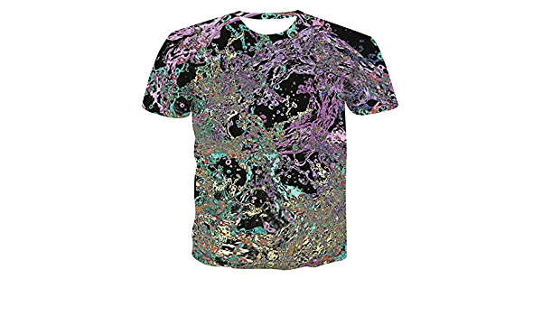 Summer Men/'s Casual Short Sleeve 3D Anime Funny T-Shirts Street Hip Hop Tee TSKH