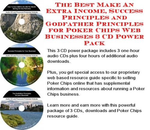 The Incredible Generate Extra Cash, Marketing and Inner Game for Poker Chips Web Biz 3 Course + Resource Guide (Marketing Poker Chip)