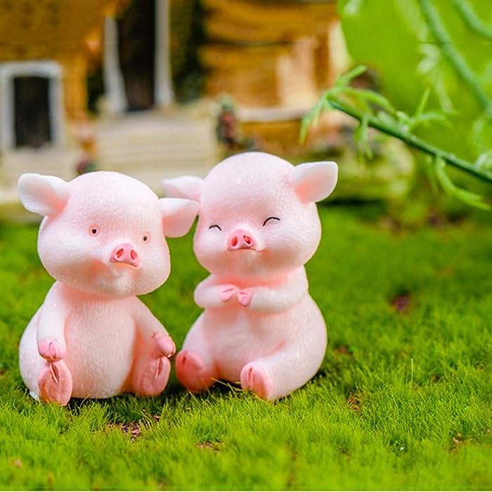 The Best Pig Fairy Garden