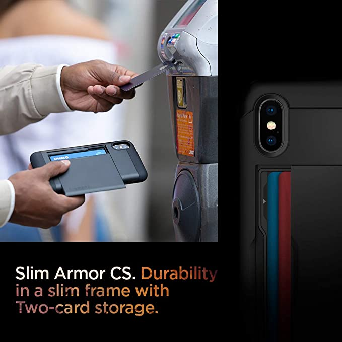 Spigen Slim Armor Cs Case Compatible With Iphone Xs And Elektronik