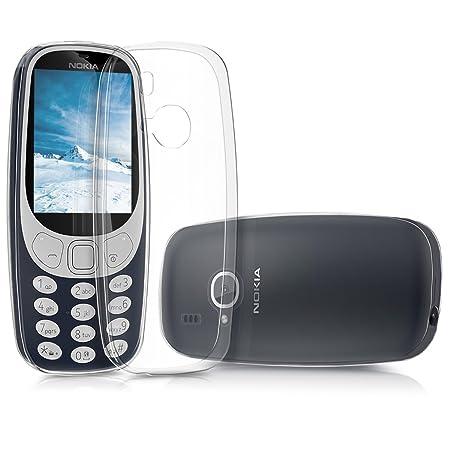 kwmobile Nokia 3310 (2017) Hülle - Handyhülle für Nokia 3310 (2017) - Handy Case in Transparent