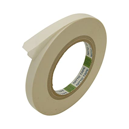 29420688e29ae Nitto (Permacel) P-02 Double Coated Kraft Paper Tape: 1/2 in. x 36 yds.  (White)