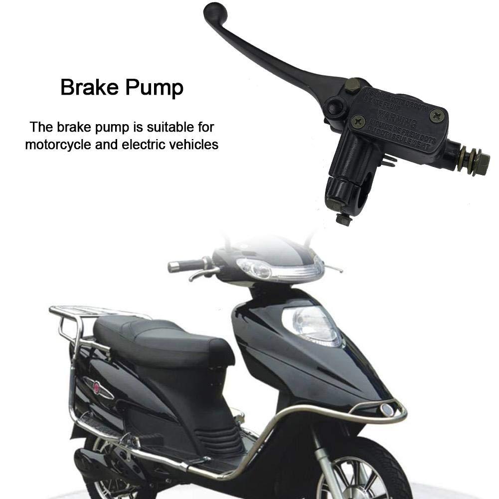 HGY Universal del Freno Delantero del dep/ósito de l/íquido de la Botella de la Motocicleta Maestro del Embrague Taza de Aceite del Cilindro Soporte