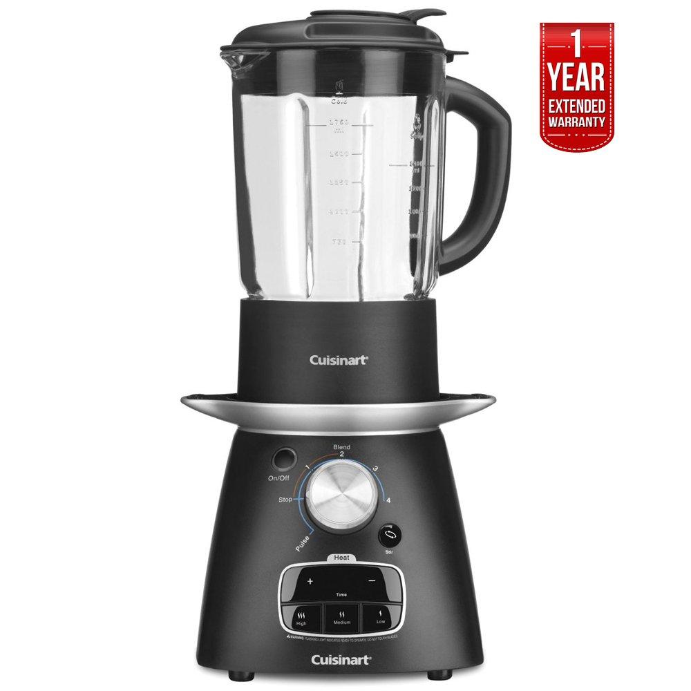 Cuisinart SBC-1000FR Soup Maker Blender, Blend Cook 1 Year Extended Warranty - (Certified Refurbished)