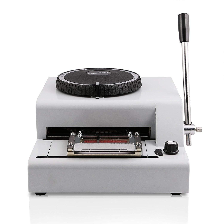 Ztopia - Máquina de repujado 72 caracteres tarjeta de ...