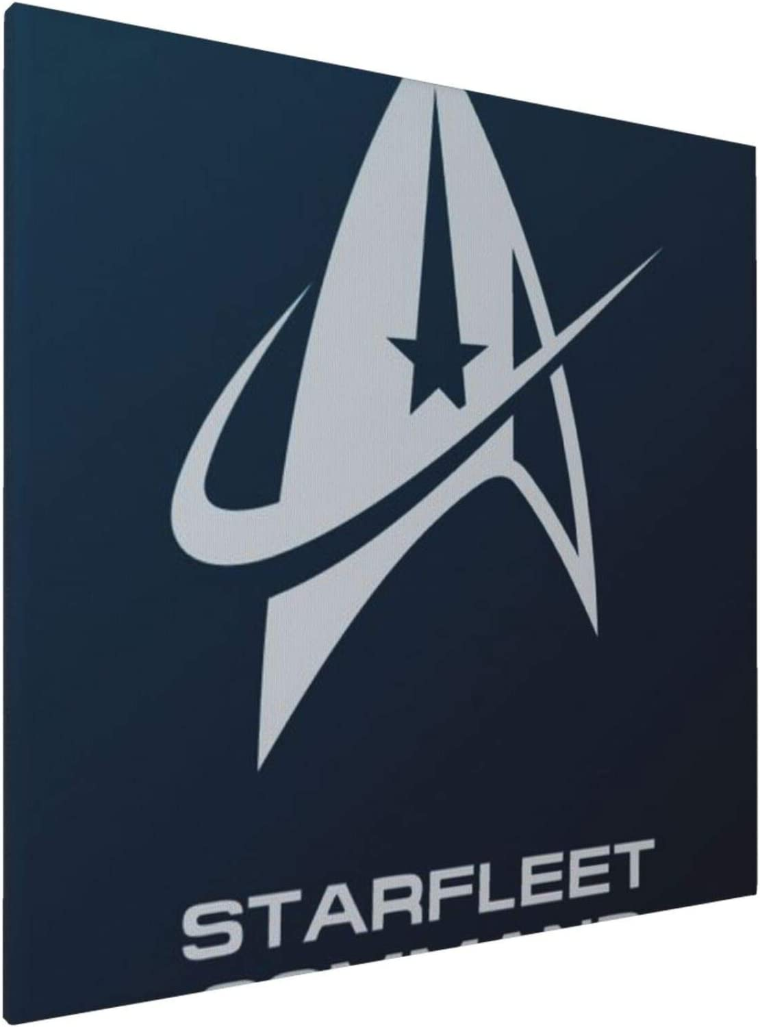 1045 Canvas Prints Wall Art Paintings(20x20in) Star Trek Logo Flat Pictures Home Office Decor Framed Posters & Prints