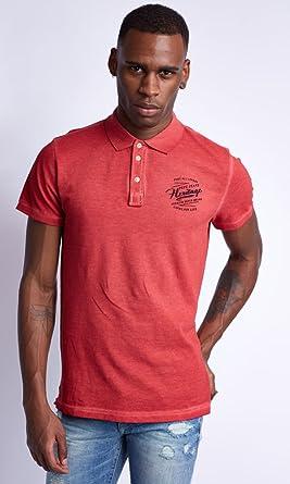 Pepe Jeans Stevie - Polo para Hombre, Talla XL, Color Rojo ...
