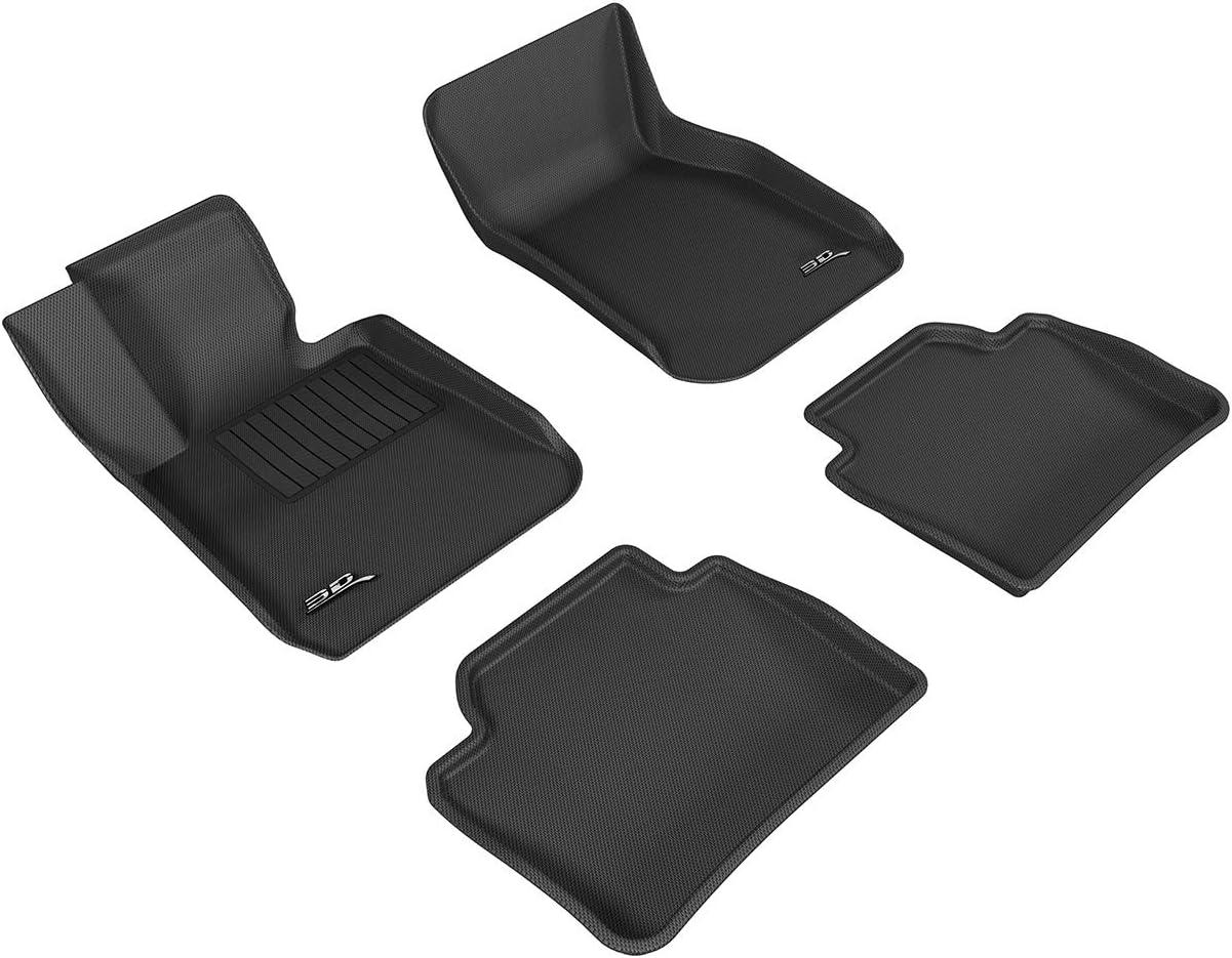 Custom Car Floor Mats for BMW 4 Series F32 F33 F36 2013-2018 2-Door Waterproof Non-Slip Leather Carpets Automotive Interior Accessories 1 Set Black