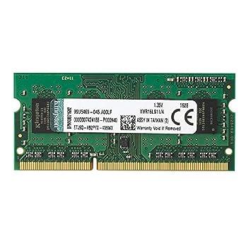 Image result for Kingston 4GB 1600MHz DDR3L Laptop RAM (KVR16LS11/4)