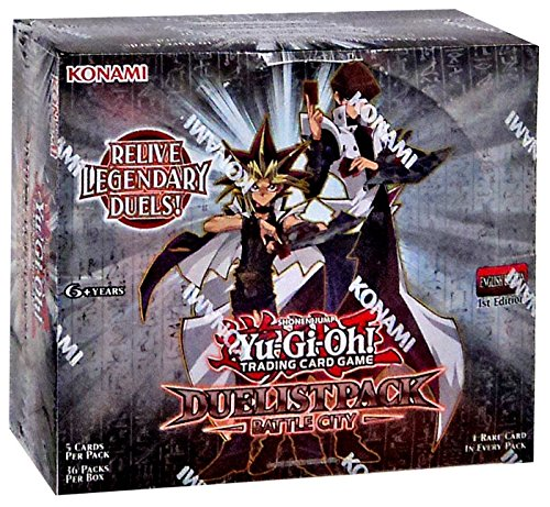 YuGiOh Battle City Duelist Pack Booster Box [Sealed] by Konami