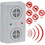 #1 Ultrasonic Pest Repeller - Plug2Repel Repels Away Rodents, Mice, Cockroaches, Ants & Spiders - Plug In Easy To Use - Best Pest Control Device For Indoor Use