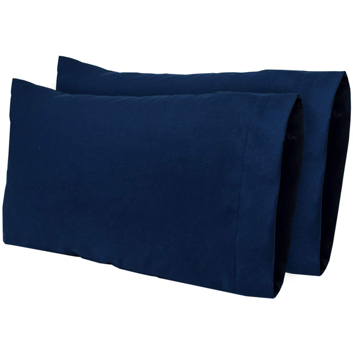 300 Thread Count 100/% Kona Cotton Travel Pillowcase Fits MyPillow Go Anywhere Pillow Toddler Size Pillowcase Color:Storm 2 Pack 12x18 Made in The USA! AB Lifestyles Travel Size