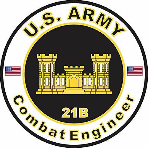 US Army MOS 21B Combat Engineer 3.8 Inch (21b Combat Engineer)