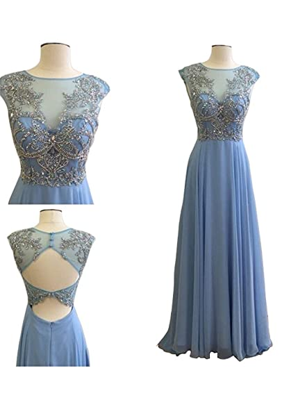 NANIYA Beading Strapless Prom Dress For Women Evening Party Gown