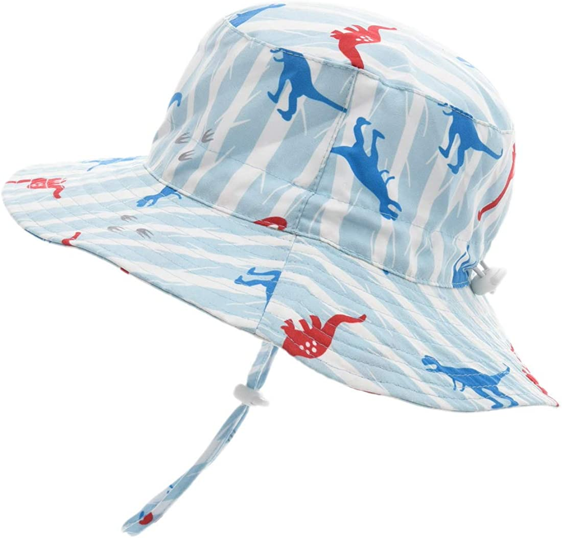 ERISO Baby Sun Hat Bucket Outdoor Beach Summer Hats for Toddler Boys Girls UPF 50+