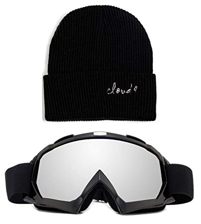 Cloud 9 Professional Snow Ski Goggles Adult Anti-Fog Dual Lens UV400 Protection