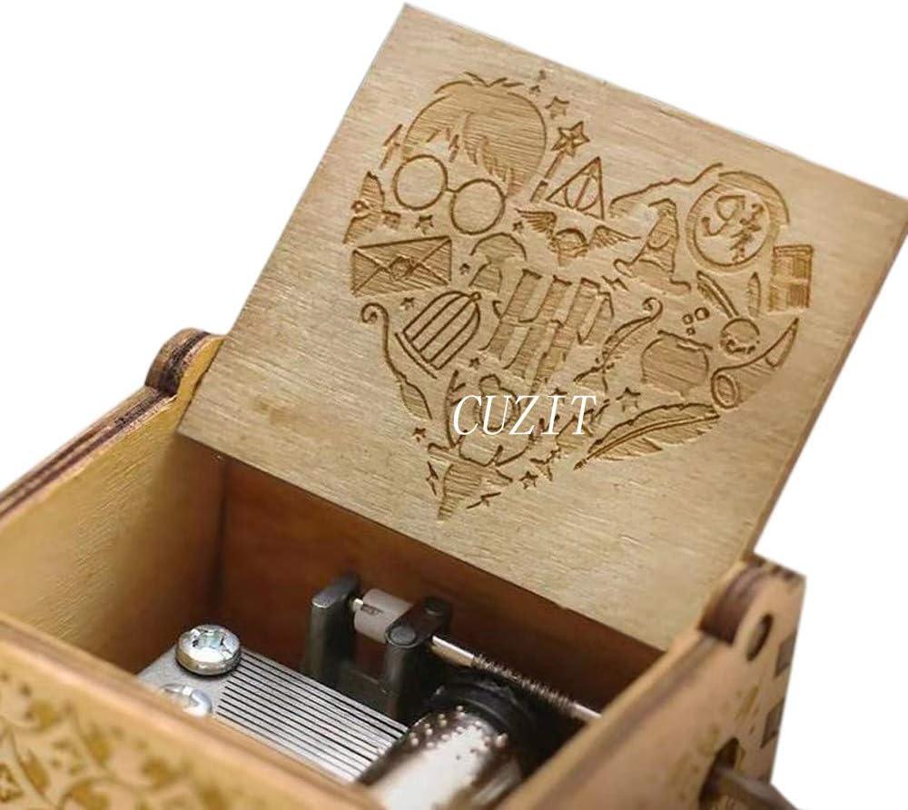 Cuzit Sweet Heart Harry Potter Caja de música de Juguete con 18 ...