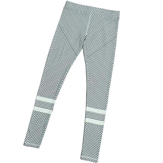 Amazon.com  M.Baxter Frauen High Elastic Yoga Hosen Schwarz und Weiß  Streifen Printing Slimming Sportswear (black white, L)  Clothing 5078a0a69f
