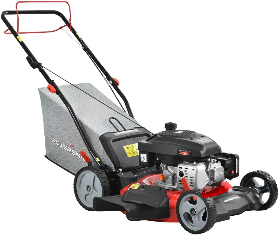 PowerSmart DB2321S 21 3-in-1 161cc Gas Self Propelled Lawn Mower