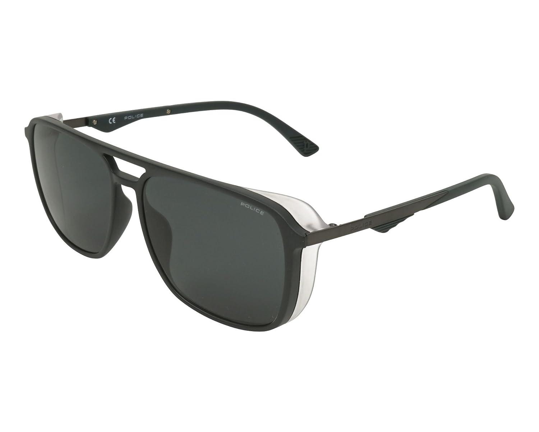 Police Gafas de sol - para hombre Negro Noir Mat - Gunmetal ...