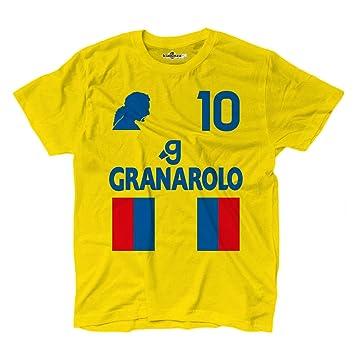 Camiseta camiseta fútbol Vintage Roberto Bologna 10 Baggio Temporada 97 – 98 leggen, KTS01830_S,