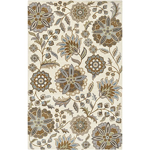 Surya Athena ATH-5063 Transitional Hand Tufted 100% Wool Ivory 7'6