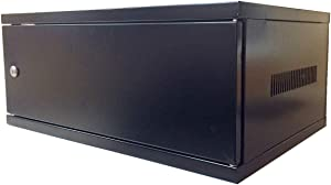 Electriduct 4U Wall Mount Rack Enclosure Server Network Cabinet - Solid Door (New Model)
